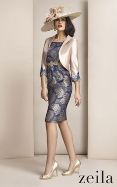 A gorgeous outfit from Zeila for a mother of the bride/groom or wedding guest. We just love Zeila fashion.   #froxoffalkirk