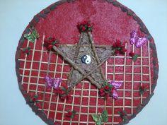 Mandala Pentagrama http://soluarte-mandalas.blogspot.com.br/