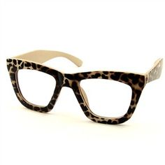 Leopard glasses. Yes, please.