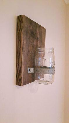 Diy Mason Jar Wall Decor Hamby Home Diy Projects