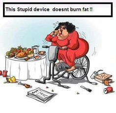 Can't out exercise a bad diet!!  This is SO me right now. Need to get my head back in the right place!!