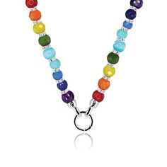 Spectrum Luxe Necklace 49cm; available in Petite size (88cm), as well as bracelets in various sizes