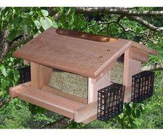 Bird Feeder Deluxe Twin Hopper Feeder Songbird Essentials  #SongbirdEssentials