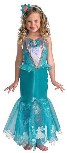 Ariel Costume - Children's Prestige Licensed Disney Costume
