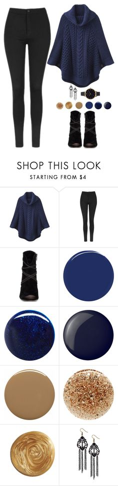 """""""Hoshi X Winter Date"""" by jleeoutfitters ❤ liked on Polyvore featuring Joules, Topshop, Vince Camuto, RGB Cosmetics, RGB, Essie, Deborah Lippmann, JINsoon and Olivia Burton"""