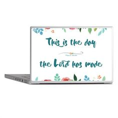 This is the Day Laptop Skins