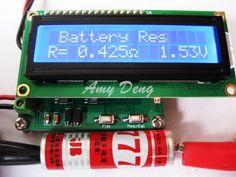 Battery internal resistance tester ESR capacitor online test proposed #Affiliate