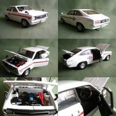 Out of Print - 1/24 Scale PIT-ROAD NISSAN SUNNY 1200 COUPE GX-5/GX 1972 (White) #PITROAD #Nissan