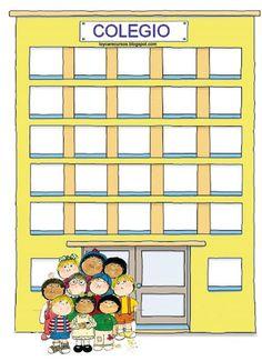 RECURSOS DE EDUCACION INFANTIL: octubre 2010 Classroom Board, Classroom Decor, Preschool Name Tags, School Bus Safety, First Day School, School Clipart, Petite Section, Class Decoration, Circle Time