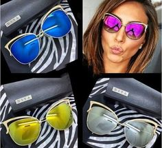 Elina woman GOLD frame Colorful oculos de sol feminino gafas  lentes de sol lunette de soleil occhiali da sole sunglasses