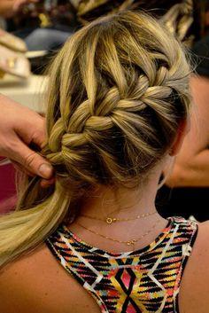 I love doing this Braid Natural Braided Hairstyles, Pretty Hairstyles, Wig Hairstyles, Wedding Hairstyles, Curly Hair Styles, Natural Hair Styles, Beautiful Braids, How To Make Hair, Hair Day