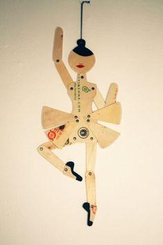 #doll #wood