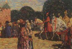 Wassily Kandinsky. Sunday (Old Russian), 1904