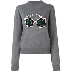 Markus Lupfer sequined sweatshirt (1.065 BRL) ❤ liked on Polyvore featuring tops, hoodies, sweatshirts, grey, sequin sweatshirt, grey sequin top, gray sequin top, gray sweatshirt and grey sweatshirt