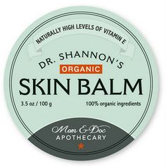 Fig+Sage: Announcing :: Mom & Doc Apothecary Launches First Product, 100% Organic Skin Balm {Review}
