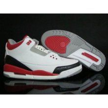 ce1c436d82ca Air Jordan III - Fire Red Basketball Sneakers