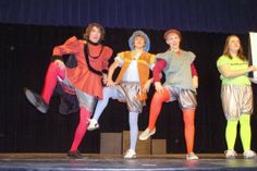 From the Blaine High School production of Hamlette by Allison Williams #theatre