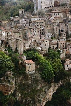 Sorano, Toscana Italy.