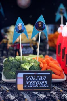 Star trek party geek ideas