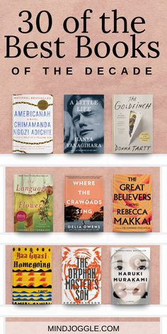 30 of the best fiction books of the last decade. You don't want to miss these books; find three of the top novels from each year of the books bestbooks bestbooksofthedecade booklist readinglist 731553533207265681 Books You Should Read, Best Books To Read, I Love Books, My Books, Teen Books, Great Books, Good Books To Read, Best Book Club Books, 100 Best Books
