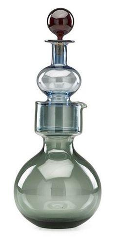 Glass Design, Design Art, Bottle Art, Decanter, Modern Contemporary, Bungalow, Scandinavian, Glass Art, Retro Vintage