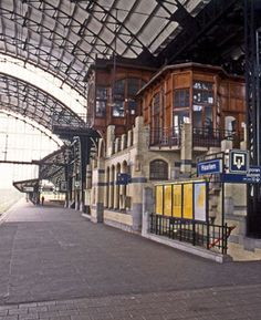 Station Haarlem. My hometown. The Netherlands