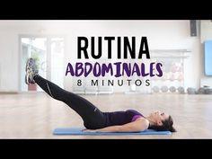 Abdomen definido en 8 minutos   Rutina de abdominales - YouTube