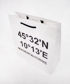 Paper bag for Magenta Homme / Giustacchini Packaging