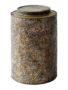 An Old Tin Can Before it's Makeover Into A Lovely Lamp, From Better Homes And Gardens