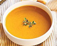 Reg-enor Receptek Slow Cooker Pumpkin Soup, Slow Cooker Soup, Slow Cooker Recipes, Crockpot Recipes, Soup Recipes, Cooking Recipes, Pumkin Soup, Thai Recipes, Lunch Recipes