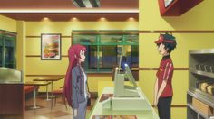 the devil is a part timer funny | 01 the devil is a part timer hataraku maou sama ep 1 9 yet another ...