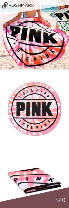 Pink Towel brand new Pink beach towel  Super soft brand new PINK Victoria's Secret Swim