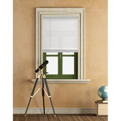 Mainstays Cordless 1 inch Vinyl Light Filtering Blinds, White, Multiple Sizes Size: 46 inch x 64 inch The People Next Door, Room Darkening Blinds, Vinyl Mini Blinds, Cheap Blinds, White Blinds, Cellular Shades, Blinds For Windows, Window Blinds, Wood Blinds