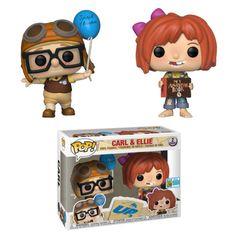 Personaggio in vinile Carl ed Ellie in esclusiva SDCC serie Pop! Funk Pop, Disney Up, Pop Vinyl Figures, Funko Pop Figures, Pop Figures Disney, Funko Pop Dolls, Figurines Funko Pop, Funko Toys, Tous Les Disney