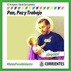 """""""Dia de San Cayetano"""" Fiesta Patronales en su honor #VamosParaAdelante"""