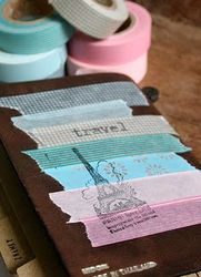 What a great idea for washi tape use