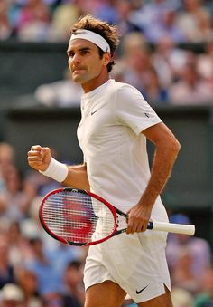 Roger Federer of Switzerland in the Gentlemens Singles Semi Final match against Andy Murray of Great Britain during day eleven of the Wimbledon Lawn Tennis Championships at the All England Lawn Tennis and Croquet Club on July 10, 2015 in London, England.
