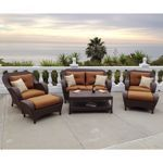 Rossano 6-piece Patio Deep Seating Set