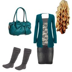 I LOVE this! But minus the purse lol :)