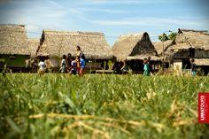 A village in Pacaya Samiria, Iquitos.