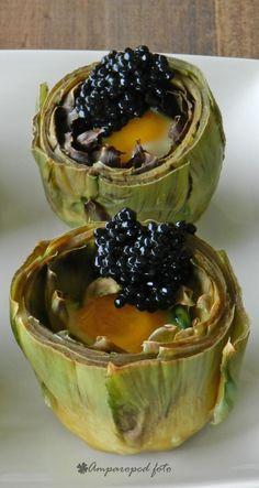 Receta de nidos de alcachofa