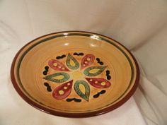 Vintage #Pennsbury #Pottery Hex Bowl  #Morrisville Pa Folk Art #Dutch Design Mint