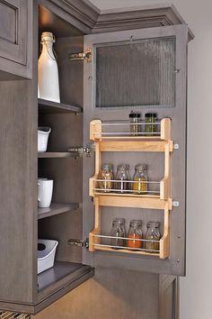 Rev-A-Shelf Door-Mount Spice Rack - Spice Racks For Cabinets - In-cabinet Spice Rack - Cabinet Door Spice Rack - Pantry Door Spice Rack   HomeDecorators.com