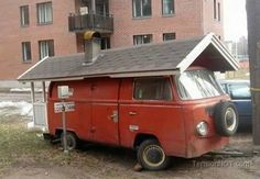 Volkswagen Bus house
