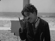 Charlie Chaplin in By The Sea Charlie Chaplin, Charles Spencer Chaplin, Harold Lloyd, Epic Film, Funny Character, Classic Movie Stars, Old Hollywood, Classic Hollywood, Silent Film