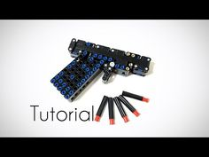 LEGO mini pistol/tutorial - YouTube Tactical Pistol, Lego, King, Music, Youtube, Musica, Musik, Muziek, Music Activities