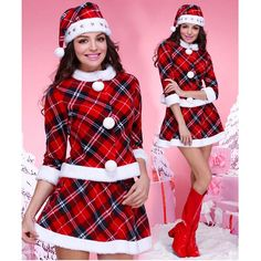 Buy #Corsets dress online at best price this #XMAS TARTAN 3PC #COSTUME for sale.  Order Now:- http://www.corsetdresskart.com/Sale/Sale-Tartan-3pc-Costum