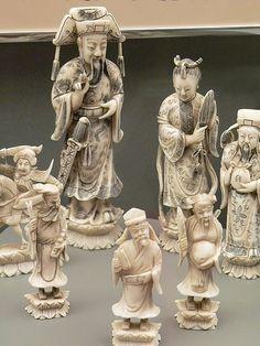 Ivory Chess Set China   Flickr - Photo Sharing!
