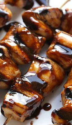 Balsamic Chicken Skewers