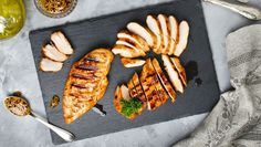 Jazz your chicken up with one of three sweet and savoury marinades.